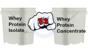 Whey vs. Whey Isolates -- What's the Difference?