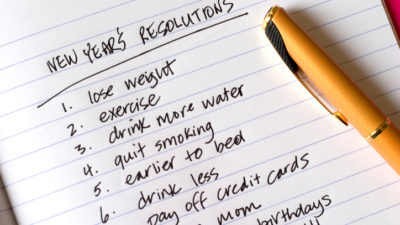 How To Choose A New Year's Resolution